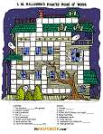 Haunted House Crossword Puzzle