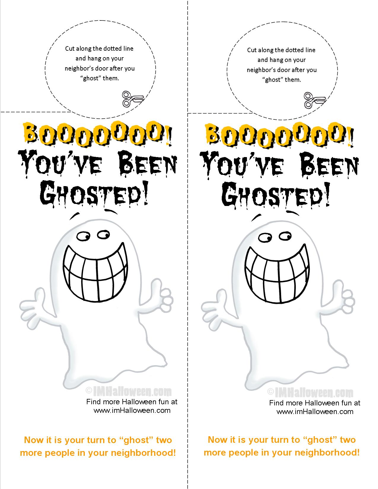 you ve been ghosted