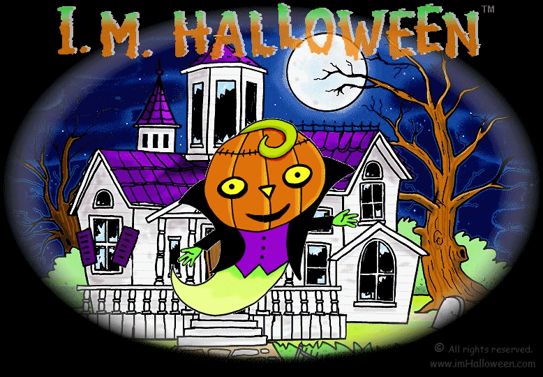 I M Halloween, welcome to my website