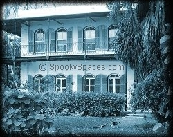 Haunted Heminway House, Key West, Florida -- It's said the restless souls of Ernest Hemingway and